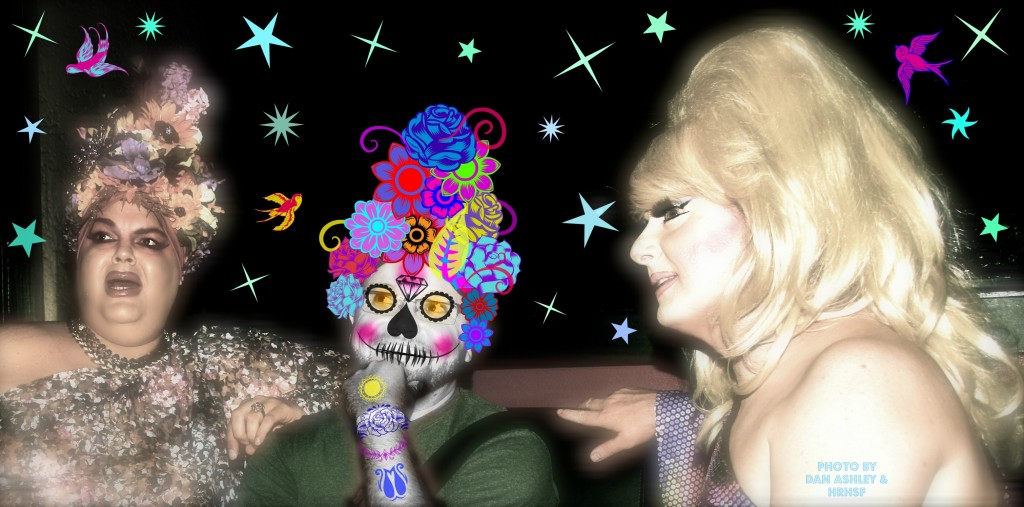 Lady Bunny & SisterFace Waikiki 2012, Photo by : Dan Ashley & Edited By SisterFace