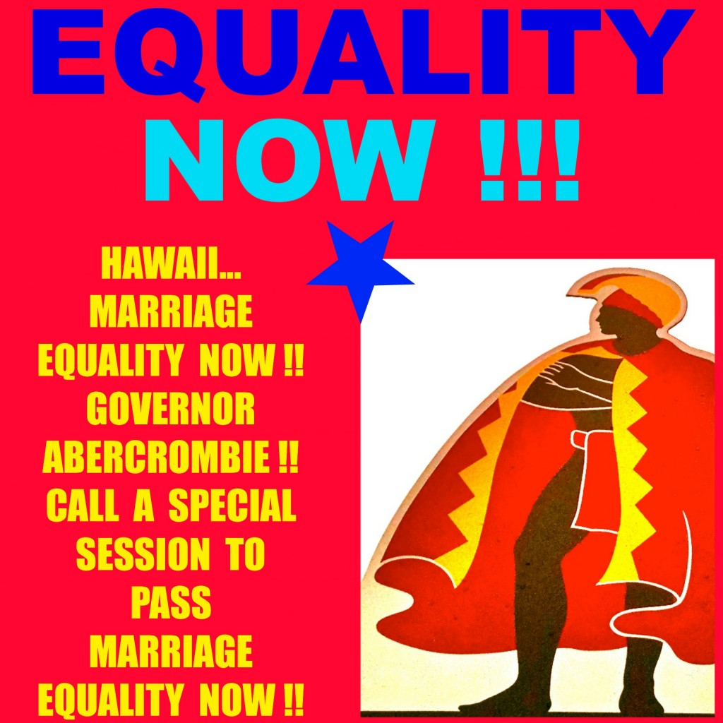 Full Marriage Equality Hawaii