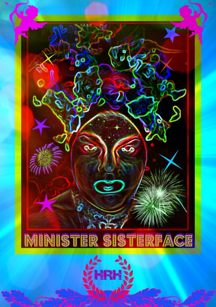 Minister HRH SisterFace, Hawaii