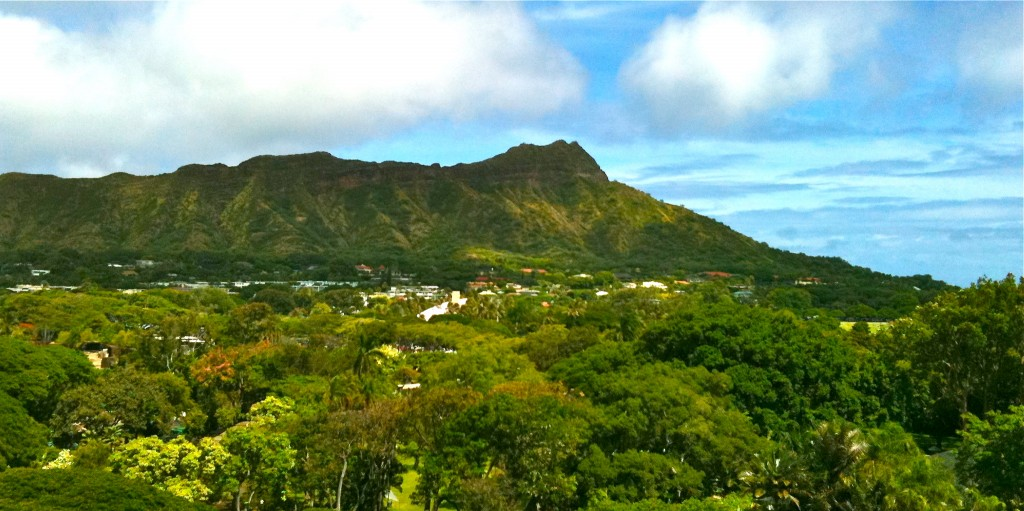 Diamond Head View, Kapiolani Park