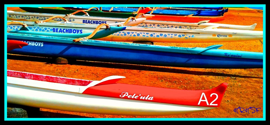 Outrigger Canoes , HRHSF Photo, Waikiki Life